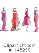Fashion Clipart #1145299 by Vector Tradition SM