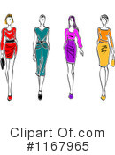 Fashion Clipart #1167965 by Vector Tradition SM