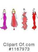 Fashion Clipart #1167973 by Vector Tradition SM