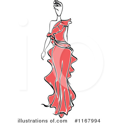 Royalty-Free (RF) Fashion Clipart Illustration by Vector Tradition SM - Stock Sample #1167994