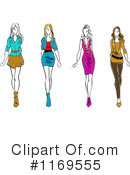Fashion Clipart #1169555 by Vector Tradition SM