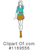 Fashion Clipart #1169556 by Vector Tradition SM