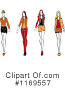 Fashion Clipart #1169557 by Vector Tradition SM