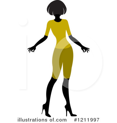 Fashion Clipart #1211997 by Lal Perera