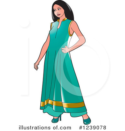 Fashion Clipart #1239078 by Lal Perera