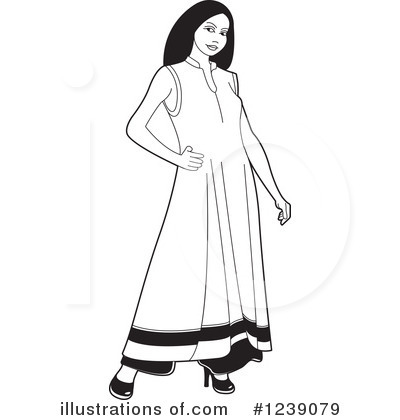 Fashion Clipart #1239079 by Lal Perera