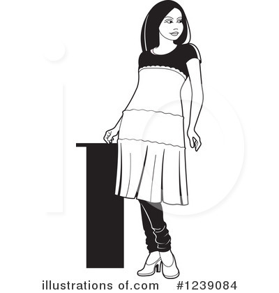 Fashion Clipart #1239084 by Lal Perera