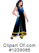 Fashion Clipart #1239085 by Lal Perera