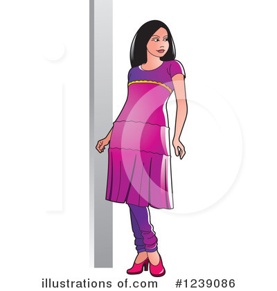 Fashion Clipart #1239086 by Lal Perera