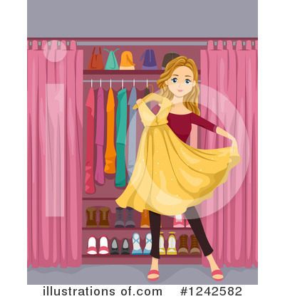 Dress Clipart #1242582 by BNP Design Studio