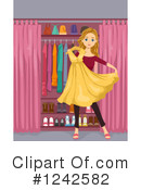 Royalty-Free (RF) Fashion Clipart Illustration #1242582