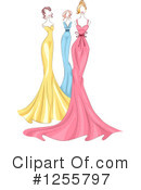 Royalty-Free (RF) Fashion Clipart Illustration #1255797