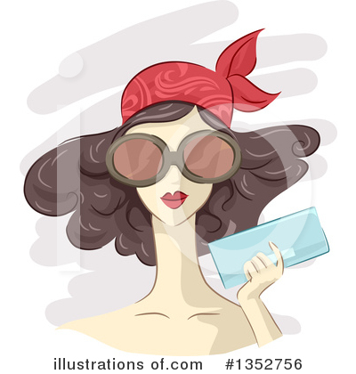 Royalty-Free (RF) Fashion Clipart Illustration by BNP Design Studio - Stock Sample #1352756