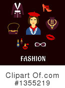 Fashion Clipart #1355219 by Vector Tradition SM