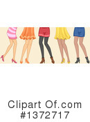 Royalty-Free (RF) Fashion Clipart Illustration #1372717