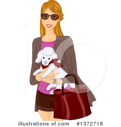 Poodle Clipart #1372718 by BNP Design Studio