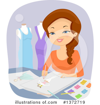 Fashion Design Clipart #1372719 by BNP Design Studio