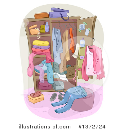 Royalty-Free (RF) Fashion Clipart Illustration by BNP Design Studio - Stock Sample #1372724