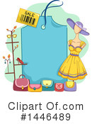 Royalty-Free (RF) Fashion Clipart Illustration #1446489