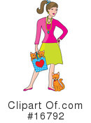 Royalty-Free (RF) fashion Clipart Illustration #16792