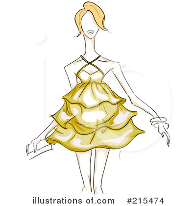 Royalty-Free (RF) Fashion Clipart Illustration by BNP Design Studio - Stock Sample #215474
