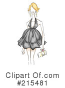 Fashion Clipart #215481 by BNP Design Studio