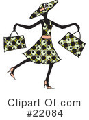 Royalty-Free (RF) Fashion Clipart Illustration #22084