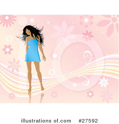 Fashion Clipart #27592 by KJ Pargeter