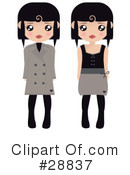 Royalty-Free (RF) Fashion Clipart Illustration #28837