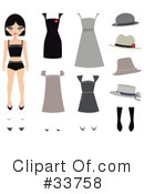 Royalty-Free (RF) Fashion Clipart Illustration #33758