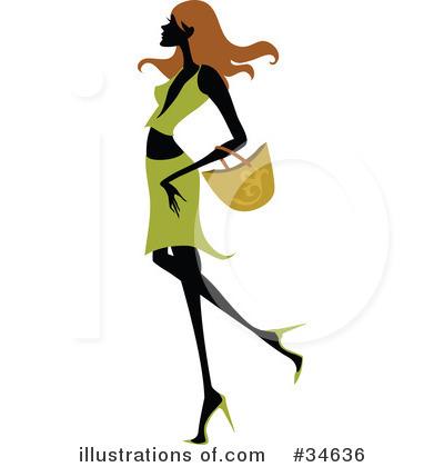 fashion clipart 34636 illustration by onfocusmedia rh illustrationsof com fashion clipart black white fashion clipart girl