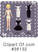 Royalty-Free (RF) Fashion Clipart Illustration #36132