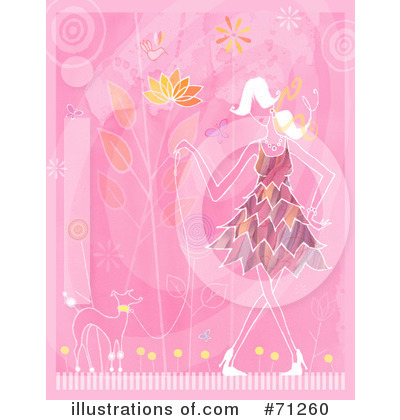 Dress Clipart #71260 by Steve Klinkel