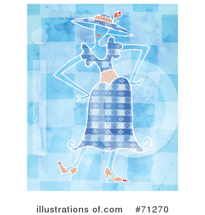 Dress Clipart #71270 by Steve Klinkel