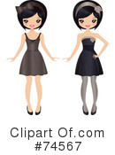 Royalty-Free (RF) Fashion Clipart Illustration #74567