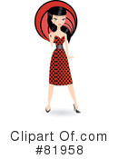 Royalty-Free (RF) Fashion Clipart Illustration #81958
