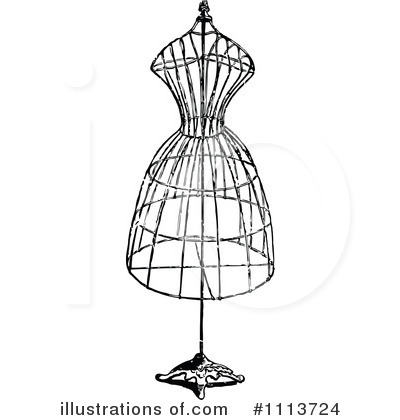 Royalty-Free (RF) Fashion Design Clipart Illustration #1113724 by ...