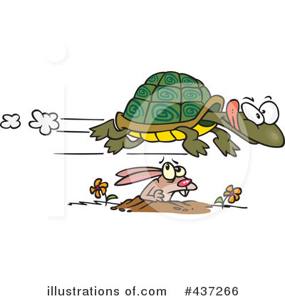 Turtle Clipart #437266 by toonaday