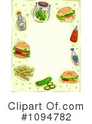 Royalty-Free (RF) Fast Food Clipart Illustration #1094782