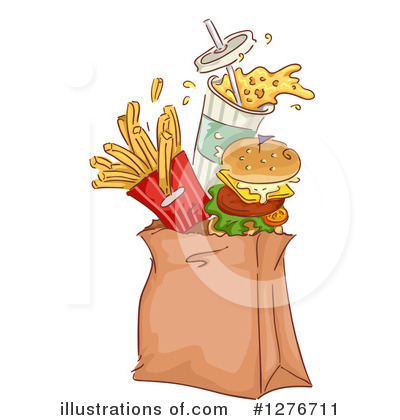 Fast Food Clipart #1276711 by BNP Design Studio