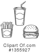 Fast Food Clipart #1355927 by Vector Tradition SM