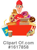 Fast Food Clipart #1617858 by Vector Tradition SM