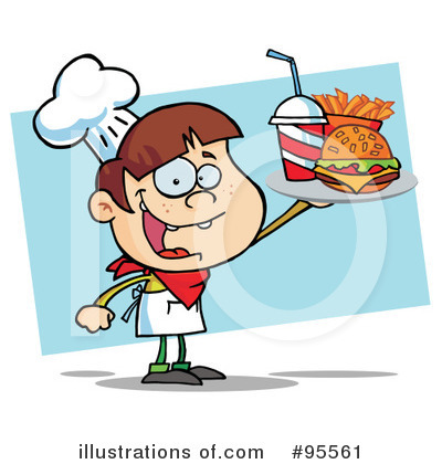 Burger Clipart #95561 by Hit Toon