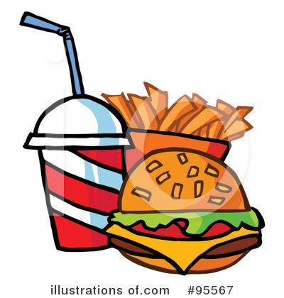Burger Clipart #95567 by Hit Toon