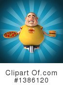 Fat Man Clipart #1386120 by Julos