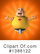 Fat Man Clipart #1386122 by Julos