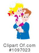 Royalty-Free (RF) father Clipart Illustration #1097023