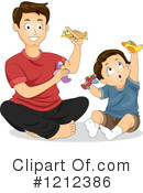 Father Clipart #1212386 by BNP Design Studio