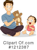 Father Clipart #1212387 by BNP Design Studio