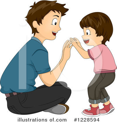 Royalty-Free (RF) Father Clipart Illustration by BNP Design Studio - Stock Sample #1228594